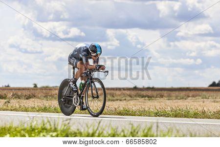 The Cyclist Richie Porte