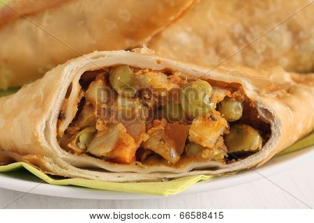 Vegetable Samosas