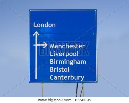 Roadsign England