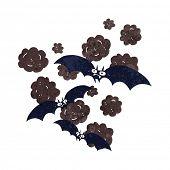 cartoon vampire bats poster