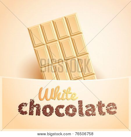 Bar Of White Chocolate