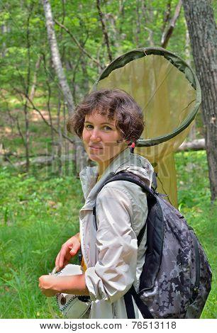 Young Woman Entomologist