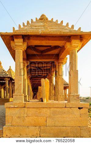Cenotaphs Of Bada Bagh, King's Memorials