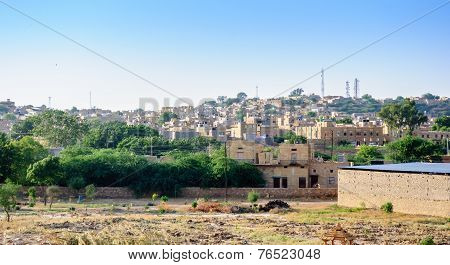Landscape Of Jaisalmer, Rajasthan