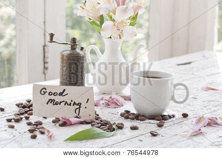 Pink Astromeria Flowers In A Vase