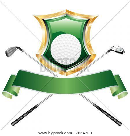 Golf Green Shield