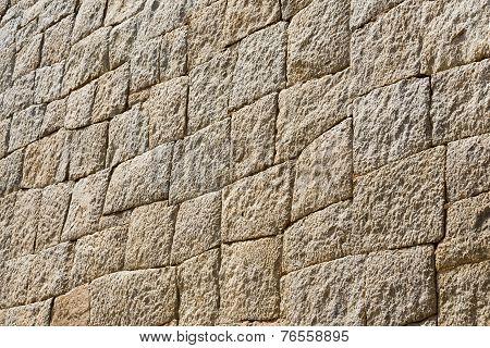 Stone Wall In Mycenae