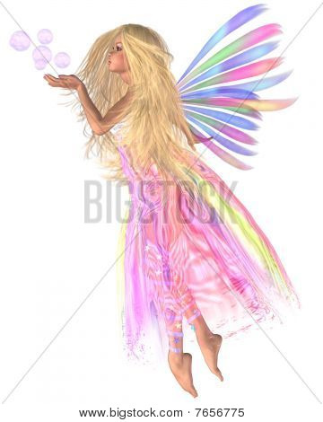 Pink Bubbles Fairy