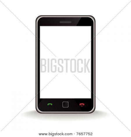 Moderne mobile Smartphone