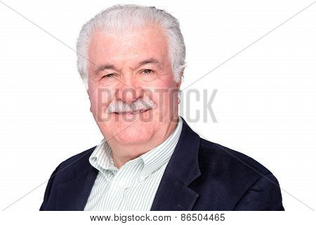 Attractive Distinguished Elderly Gentleman