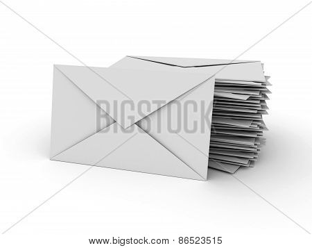 Stack Of Letters