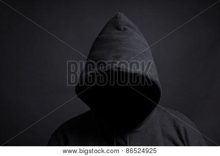 faceless person