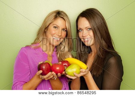 nutritionists posing