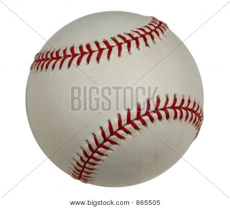 Baseball With Clipping Path