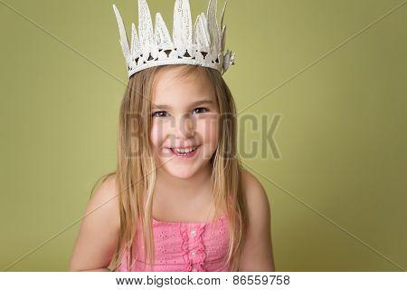 Girl In Crown, Princess