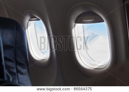 Windows Inside An Aircraft