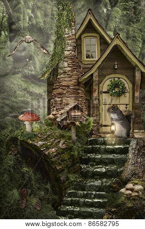 Fairy House (stump)