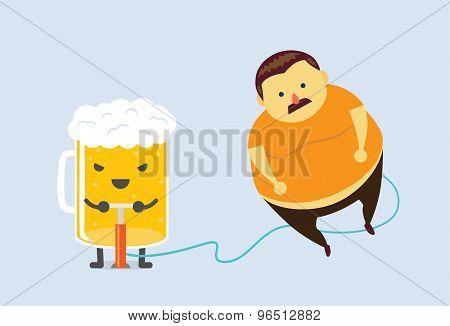 Beer make you fat