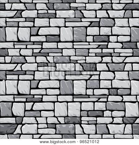 Grey stone wall seamless