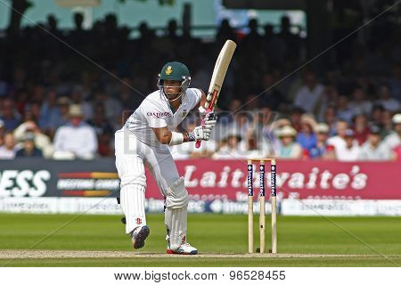 LONDON, ENGLAND. AUGUST 19 2012South Africa's South Africa's Jean-Paul Duminy  during the third Investec cricket  test match between England and South Africa, at Lords Cricket Ground