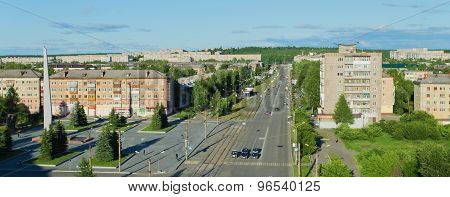 Panorama Of Prospectus Leningradsky
