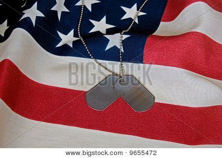 Tags On Flag
