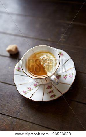 Earl Gray Tea with Lemon
