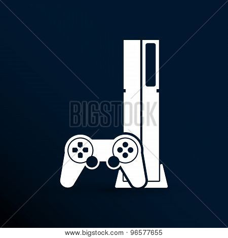 Game controller icon video gaming game electronics