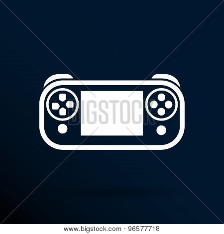 illustration of game controls Video games Silhouettes, vector