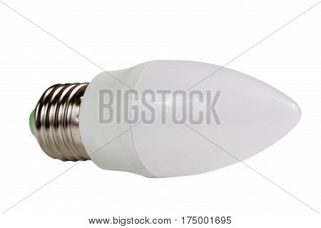 led lamp bulb isolated on white background.