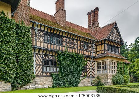 Cecilienhof is a palace in Potsdam Brandenburg Germany. Cecilienhof was the last palace built by the Hohenzollern family that ruled Prussia and Germany until 1918.