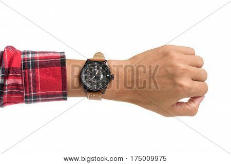 Luxury Watch On Wrist