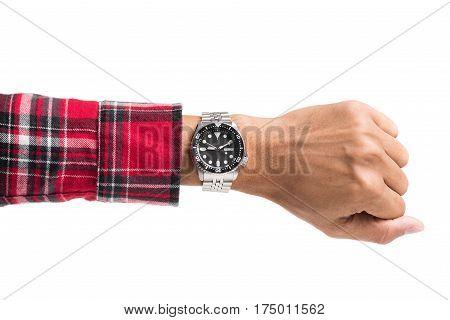Luxury Watch On Wrist