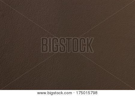Dark Brown Leather Texture Closeup Can Be Used