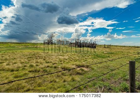 Abandoned On The Prairie