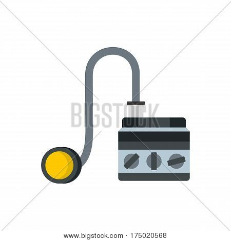 Detonator icon in flat style isolated on white background vector illustration