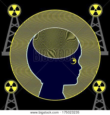 Brain Development and Radiation. Frequencies of electromagnetic waves may influence brain activities in early childhood