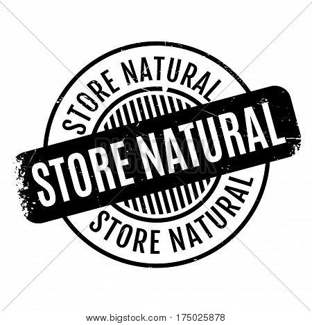 Store Natural rubber stamp. Grunge design with dust scratches. Effects can be easily removed for a clean, crisp look. Color is easily changed.