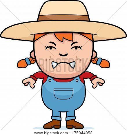 Angry Farmer Girl