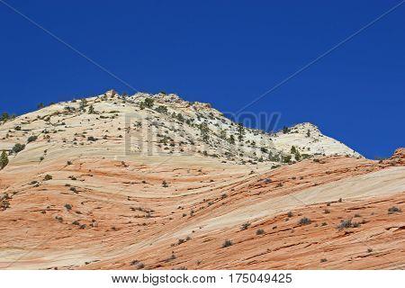 Red rocks of Zion National Park, Utah
