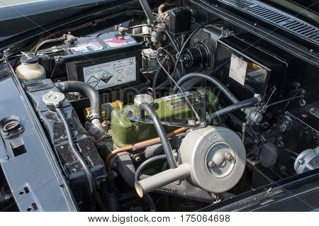 Morris Oxford Engine