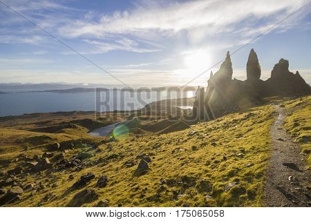 Old Man of Storr, Isle of Skye, Scottish Highlands