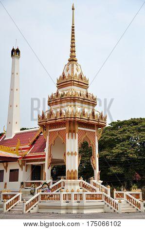Wat Na Phra Men In Ayutthaya