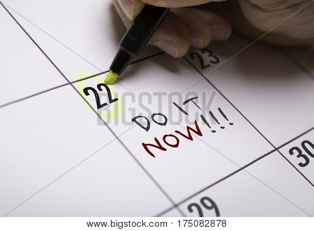 Do It Now!!!