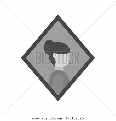 Painting, woman, leonardo icon vector image. Can also be used for museum. Suitable for mobile apps, web apps and print media.