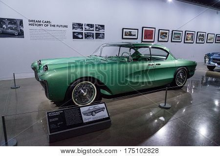 Green 1955 Chevrolet Biscayne Xp-37