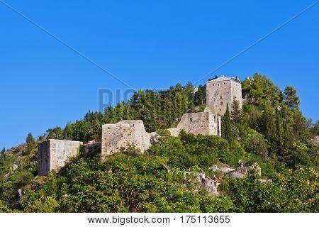 Stolac - Bosnia and Herzegovina - architecture travel background