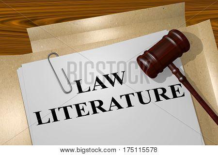 Law Literature Concept