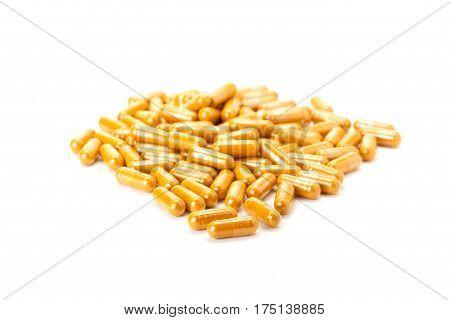 Turmeric Or Longa In Capsule