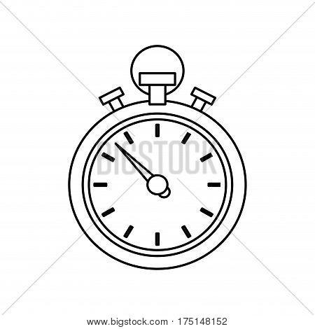Sport chronometer timer icon vector illustration graphic design